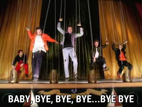 Screenshot from Bye Bye Bye (cover)